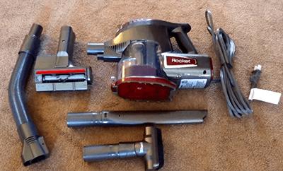 Shark HV292 Rocket Corded Ultra-Light Hand Vacuum for Carpet with TruePet Brush