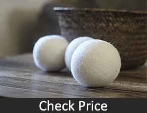 Wool Dryer Balls to remove pet hair without a lint roller